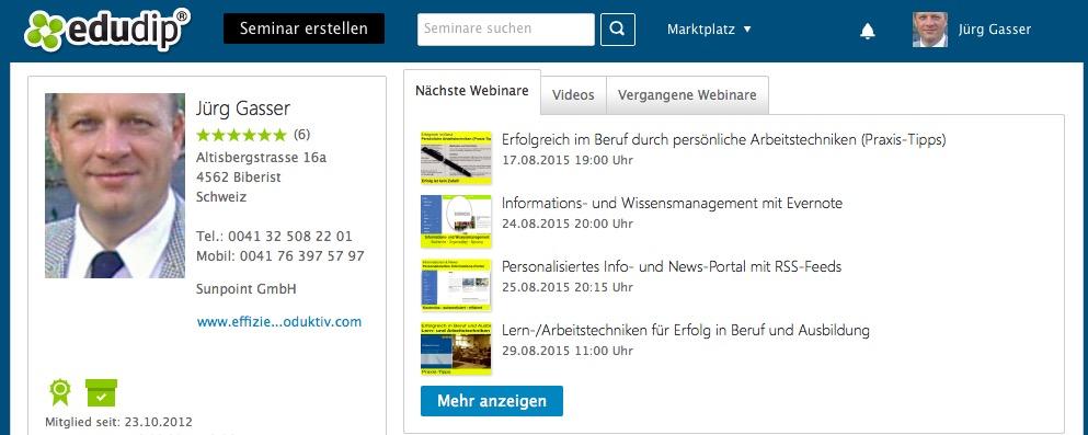 edudip Webinare